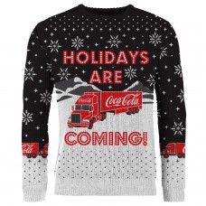Black knitted Christmas Sweater TRUCK size EXTRA LARGE