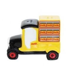 Salt & Pepper Shaker set Yellow Truck
