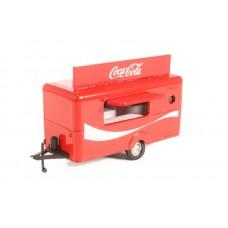 Diecast Mobile Trailer Coca Cola 1:76