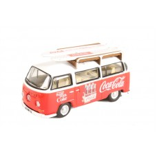 Diecast Volkswagen Bay Window Coca Cola 1:76