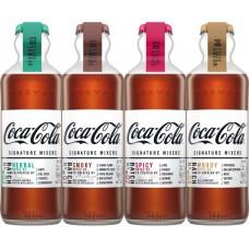 Coca-Cola Signature Mixers 4 bottles set