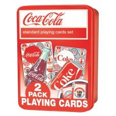 Coca-Cola playing cards 2-pack in box