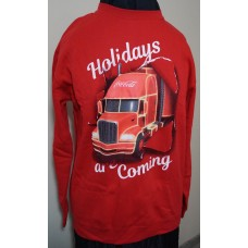 Coca-Cola Christmas TRUCK sweater Red size EXTRA EXTRA LARGE