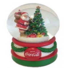 Christmas musical snowglobe