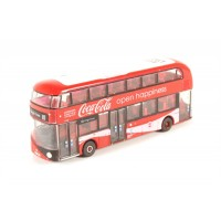 Diecast London bus, Open Happiness