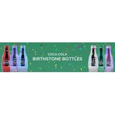 Coca-Cola Birthstone Bottle set