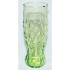 Coca-Cola yellow butterfly glass McDonalds 2009