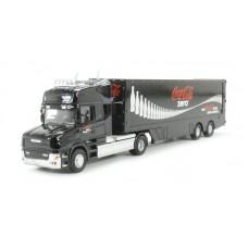 Diecast Coca-Cola Zero truck scale 1:76