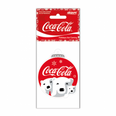 Air Freshener Coca-Cola Polar Bear bauble