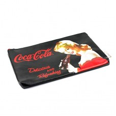 Coca-Cola pin up cosmetic bag