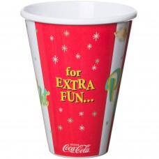 Coca-Cola popcorn cup red