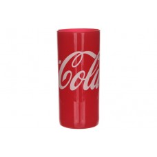 27cl glass Coca-Cola shiny red