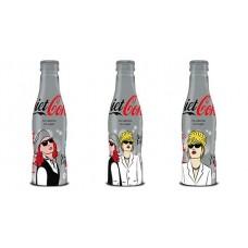"set Diet Coke bottles ""Absolutely Fabulous"""