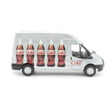 Diecast Diet Coke Ford Transit LWB High Roof, bottle design scale 1:76