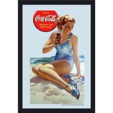 """mirror """"girl on the beach"""""""