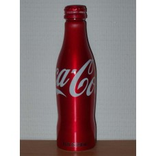 8,5oz aluminium Coca-Cola bottle with screwcap