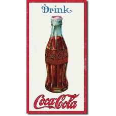 Metal sign Drink Coca-Cola