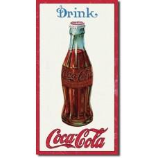 Metal sign Drink Coca-Cola