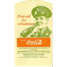 No drip bottle bag First call for refreshment' 1948'