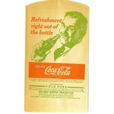 No drip bottle bag Refreshment right out of the bottle' 1948'