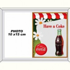 "Photo Frame Mirror ""Have a Coke"""
