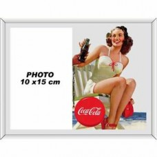 """Photo Frame Mirror """"Lady in White bathing suit"""""""