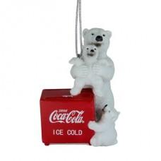 Resin Polar bear ice locker