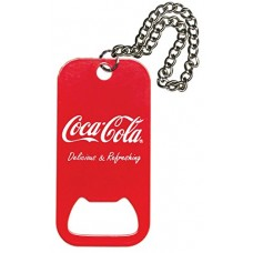 Dog tag bottle opener