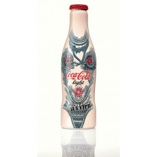 Coca-Cola Light bottle Jean Paul Gaultier TATTOO, Belgium 2012
