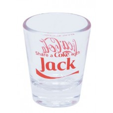 Share a Coke with Jack shot glass