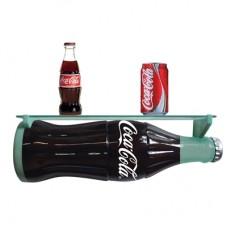 Coca-Cola contour bottle shelf