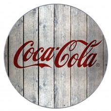 Coca-Cola wood style trivet